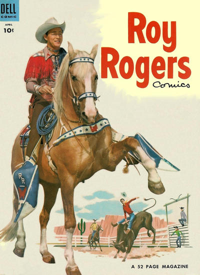 Cover for Roy Rogers Comics (Dell, 1948 series) #76
