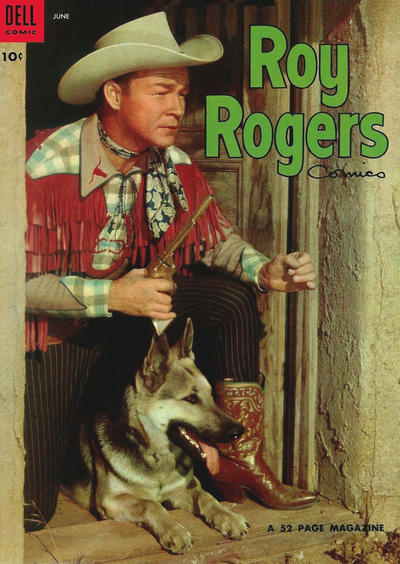 Cover for Roy Rogers Comics (Dell, 1948 series) #78