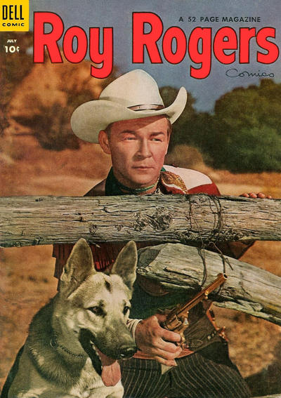 Cover for Roy Rogers Comics (Dell, 1948 series) #79