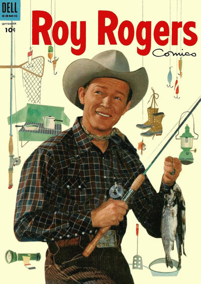 Cover for Roy Rogers Comics (Dell, 1948 series) #81
