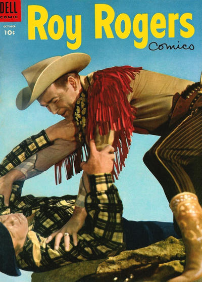 Cover for Roy Rogers Comics (Dell, 1948 series) #82