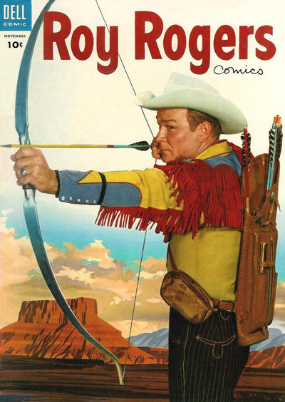 Cover for Roy Rogers Comics (Dell, 1948 series) #83