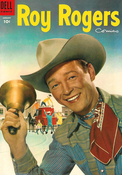 Cover for Roy Rogers Comics (Dell, 1948 series) #85
