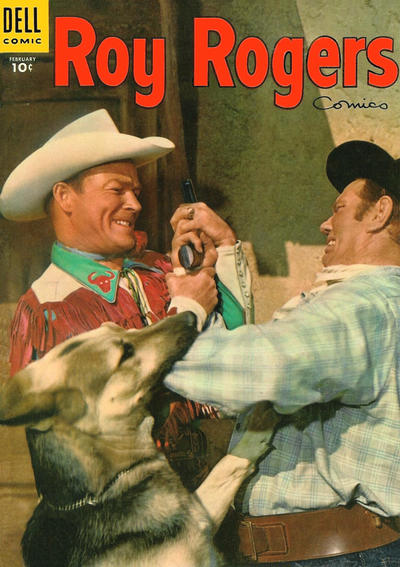 Cover for Roy Rogers Comics (Dell, 1948 series) #86