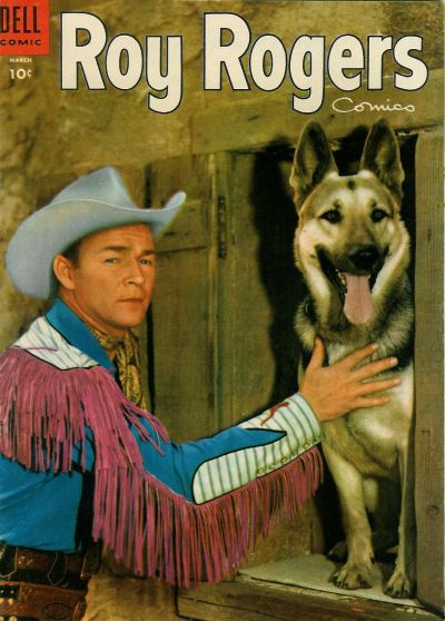 Cover for Roy Rogers Comics (Dell, 1948 series) #87