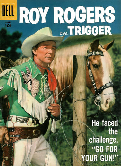 Cover for Roy Rogers and Trigger (Dell, 1955 series) #112