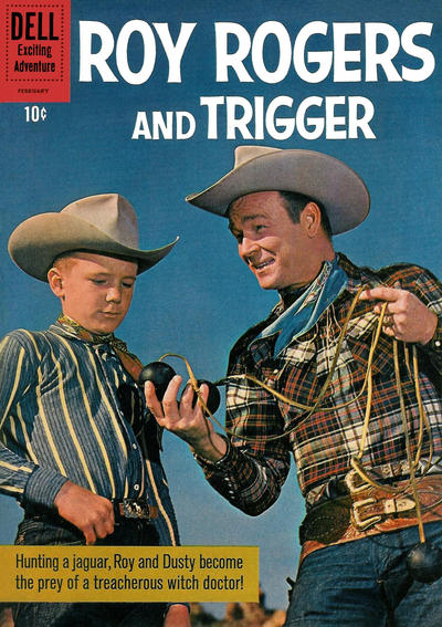 Cover for Roy Rogers and Trigger (Dell, 1955 series) #141