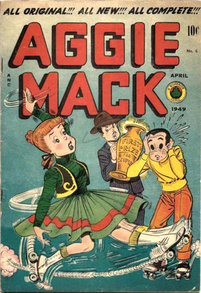 Cover for Aggie Mack (Superior Publishers Limited, 1948 series) #6