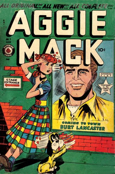 Cover for Aggie Mack (Superior Publishers Limited, 1948 series) #7