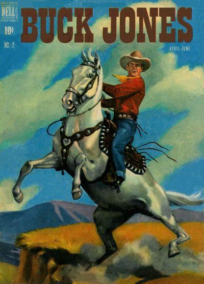Cover for Buck Jones (Dell, 1951 series) #2
