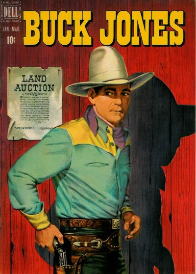 Cover for Buck Jones (Dell, 1951 series) #5