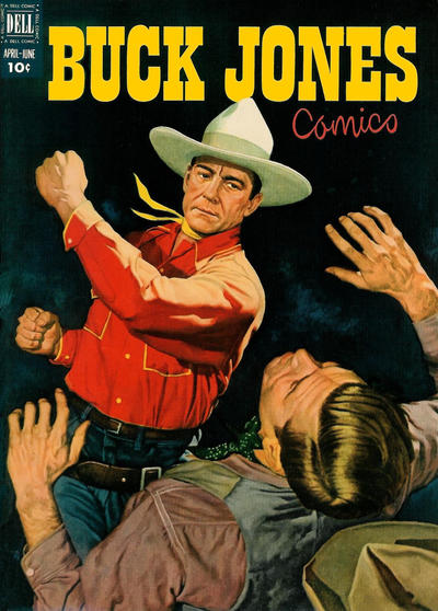 Cover for Buck Jones (Dell, 1951 series) #6