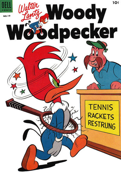 Cover for Walter Lantz Woody Woodpecker (Dell, 1952 series) #19