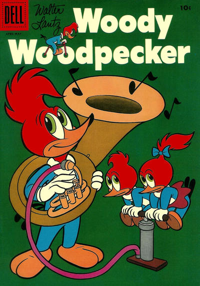 Cover for Walter Lantz Woody Woodpecker (Dell, 1952 series) #36