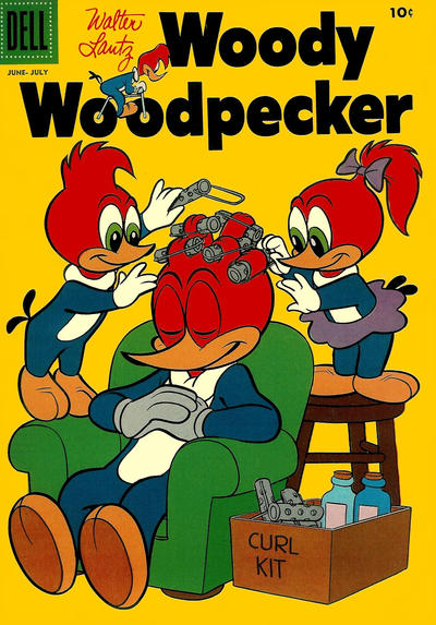 Cover for Walter Lantz Woody Woodpecker (Dell, 1952 series) #37