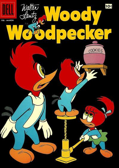 Cover for Walter Lantz Woody Woodpecker (Dell, 1952 series) #41
