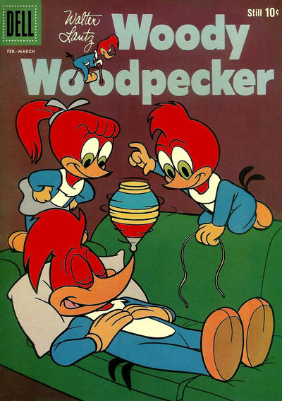 Cover for Walter Lantz Woody Woodpecker (Dell, 1952 series) #53