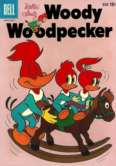 Cover for Walter Lantz Woody Woodpecker (Dell, 1952 series) #60