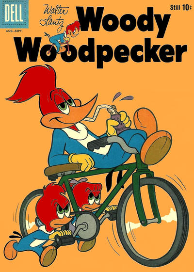 Cover for Walter Lantz Woody Woodpecker (Dell, 1952 series) #62