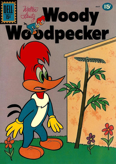 Cover for Walter Lantz Woody Woodpecker (Dell, 1952 series) #66