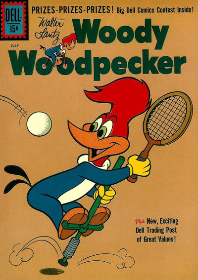 Cover for Walter Lantz Woody Woodpecker (Dell, 1952 series) #67