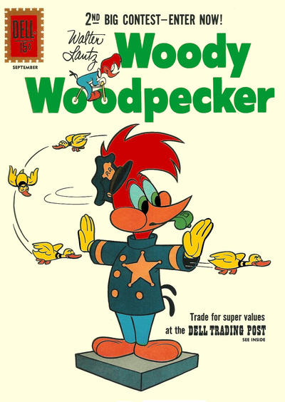 Cover for Walter Lantz Woody Woodpecker (Dell, 1952 series) #68