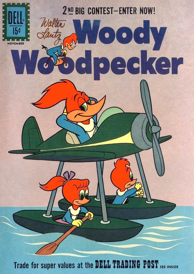 Cover for Walter Lantz Woody Woodpecker (Dell, 1952 series) #69