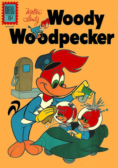 Cover for Walter Lantz Woody Woodpecker (Dell, 1952 series) #70