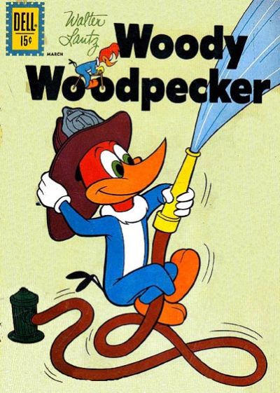 Cover for Walter Lantz Woody Woodpecker (Dell, 1952 series) #71