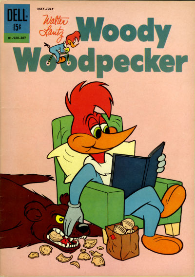 Cover for Walter Lantz Woody Woodpecker (Dell, 1952 series) #72