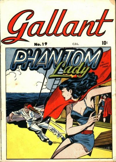 Cover for Gallant (Bell Features, 1951 ? series) #19