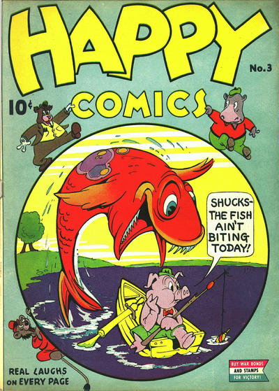 Cover for Happy Comics (Pines, 1943 series) #3