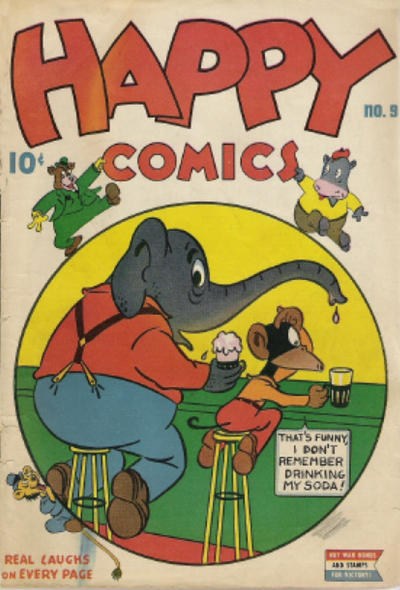 Cover for Happy Comics (Pines, 1943 series) #9