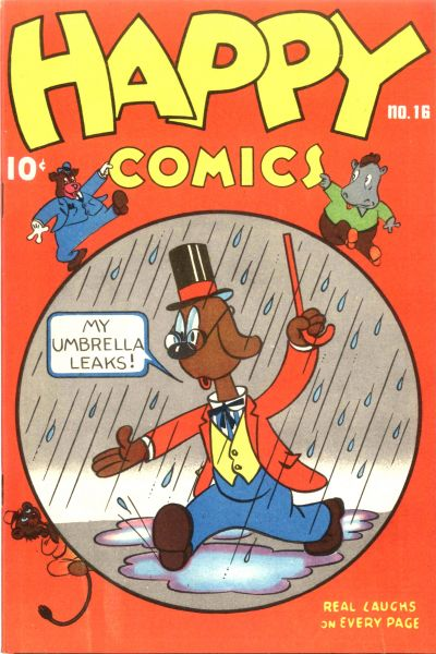 Cover for Happy Comics (Pines, 1943 series) #16