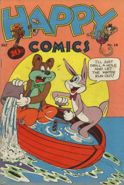 Cover for Happy Comics (Pines, 1943 series) #19