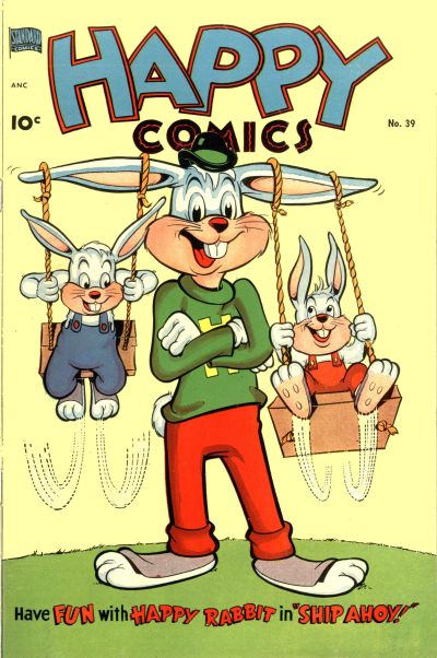 Cover for Happy Comics (Better Publications of Canada, 1950 series) #39