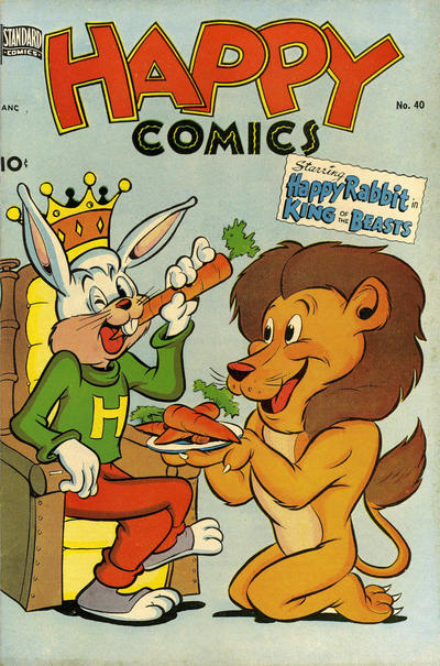 Cover for Happy Comics (Pines, 1943 series) #40