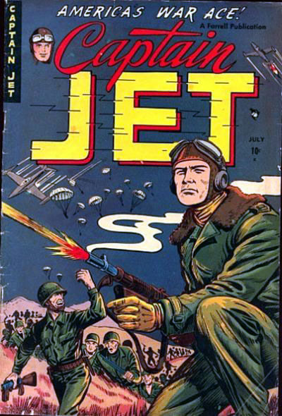 Cover for Captain Jet (Farrell, 1952 series) #2