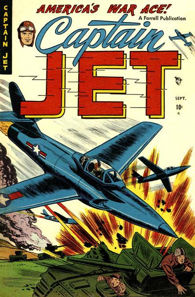 Cover for Captain Jet (Farrell, 1952 series) #3