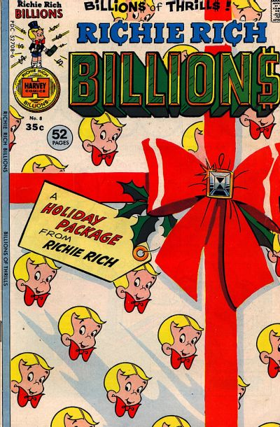 Cover for Richie Rich Billions (Harvey, 1974 series) #8