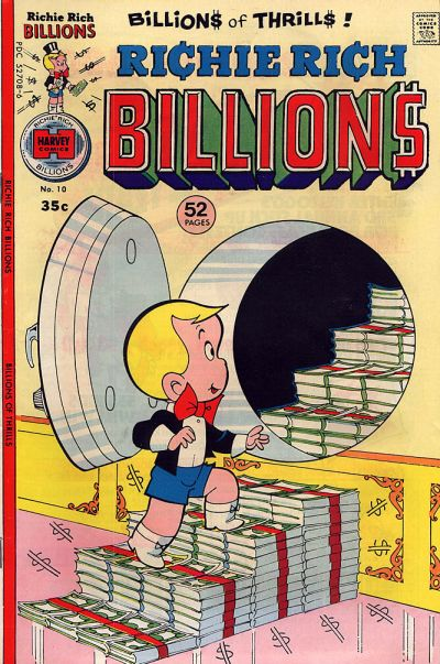 Cover for Richie Rich Billions (Harvey, 1974 series) #10