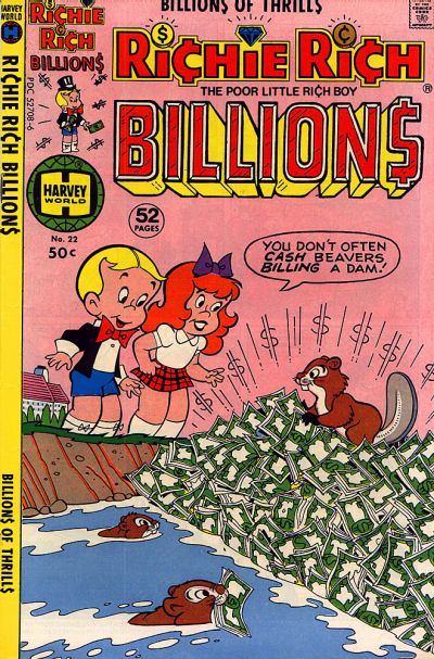 Cover for Richie Rich Billions (Harvey, 1974 series) #22