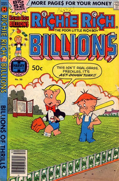 Cover for Richie Rich Billions (Harvey, 1974 series) #30