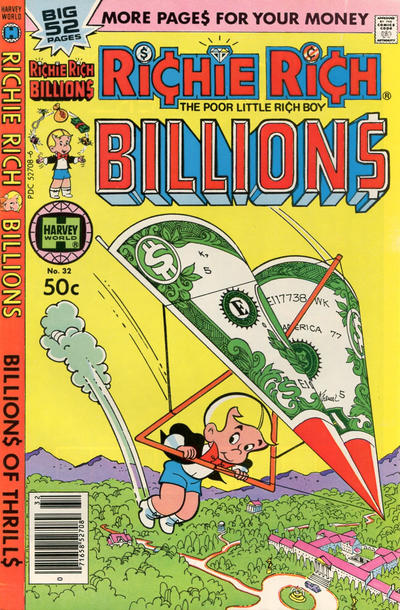Cover for Richie Rich Billions (Harvey, 1974 series) #32