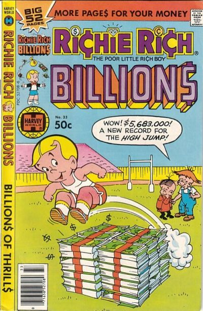 Cover for Richie Rich Billions (Harvey, 1974 series) #33
