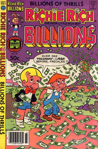 Cover for Richie Rich Billions (Harvey, 1974 series) #37