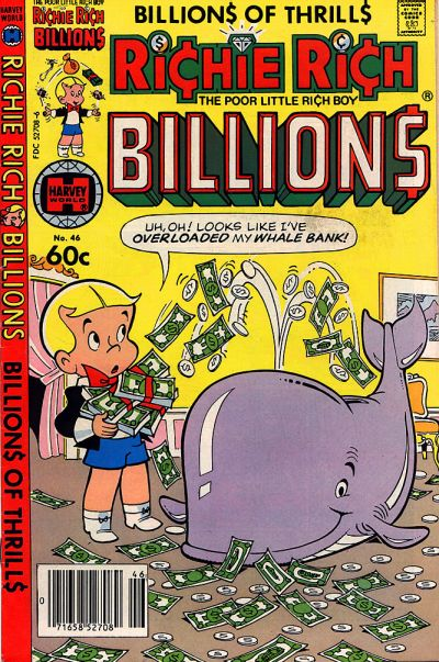 Cover for Richie Rich Billions (Harvey, 1974 series) #46
