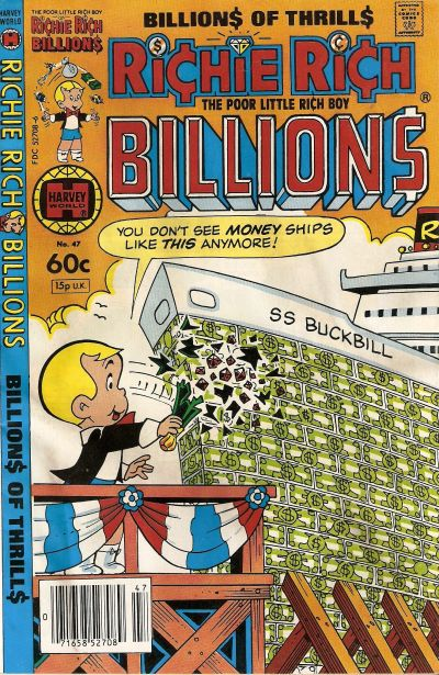 Cover for Richie Rich Billions (Harvey, 1974 series) #47