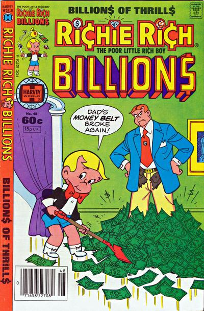 Cover for Richie Rich Billions (Harvey, 1974 series) #48