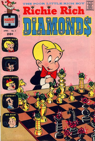 Cover for Richie Rich Diamonds (Harvey, 1972 series) #5